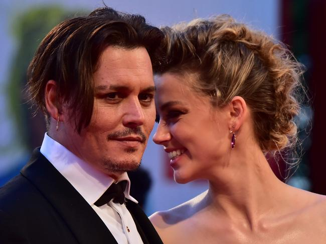 The article claimed Depp was violent to Heard during their volatile two-year marriage. Picture: Giuseppe Cacace / AFP