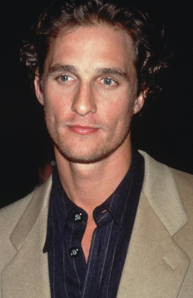McConaughey – now 50 – has barely aged a day. Picture: Getty Images.