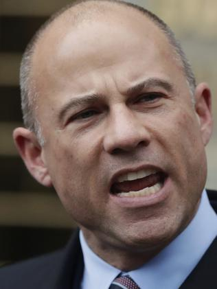 Michael Avenatti, lawyer for porn star Stormy Daniels. Picture: AP