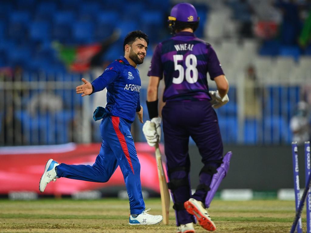 Afghanistan v Scotland - ICC Men's T20 World Cup 2021