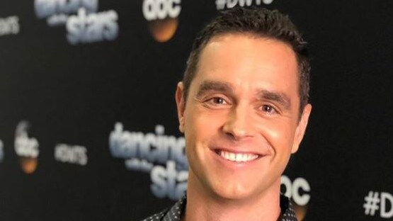 Karl Schmid, an Australian-born US entertainment reporter, is open about having HIV. Picture: Instagram