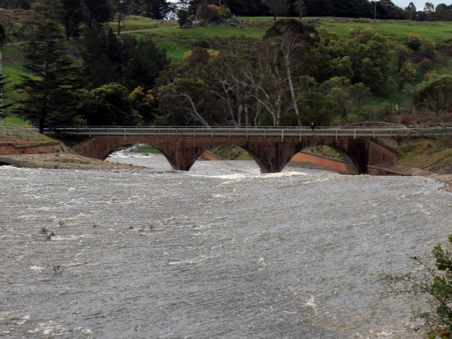 The Upper Coliban Reservoir in Victoria is one catchment already at bursting point. Picture: Twitter, Coliban Water