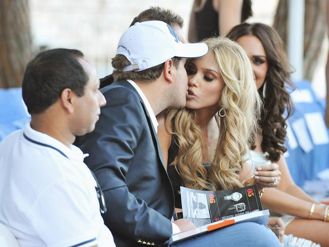 Petra was reportedly smitten with James Stunt when they first met. Picture: Pascal Le Segretain