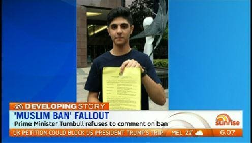 Melbourne student denied US visa