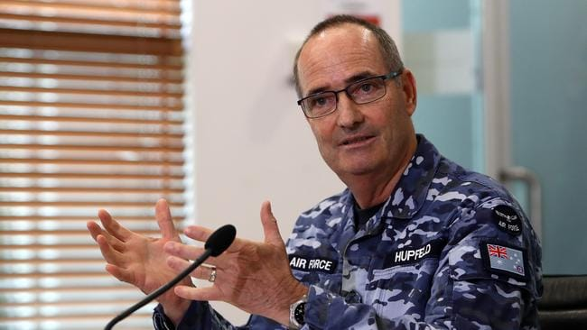 Australia's Chief of Joint Operations Mel Hupfeld said the responsibility for taking lethal action at war was a heavy burden to carry.