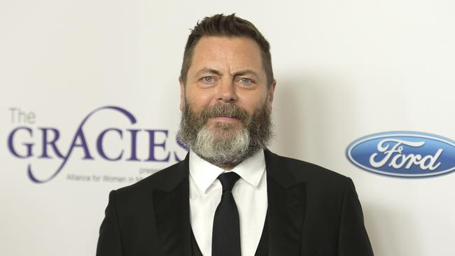 Nick Offerman is most known for his role as Ron Swanson in Parks and Recreation. Picture: AP