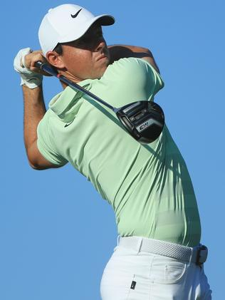 Rory McIlroy in action at the Arnold Palmer Invitational.