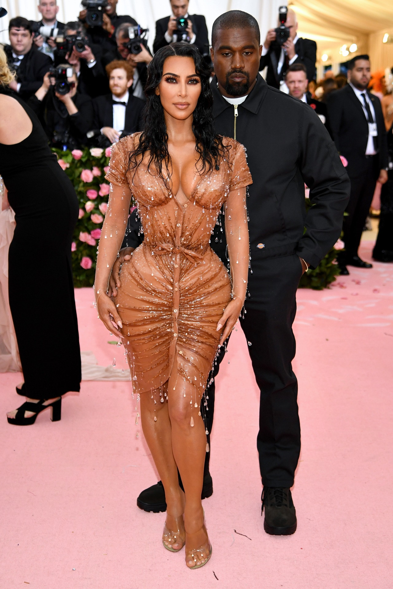Kim Kardashian and Kanye West attend the 2019 Met Gala at the Metropolitan Museum of Art on May 06, 2019 in New York City.