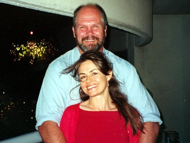Peter FitzSimons and wife Lisa Wilkinson were married six months after meeting. Picture: News Corp Australia.