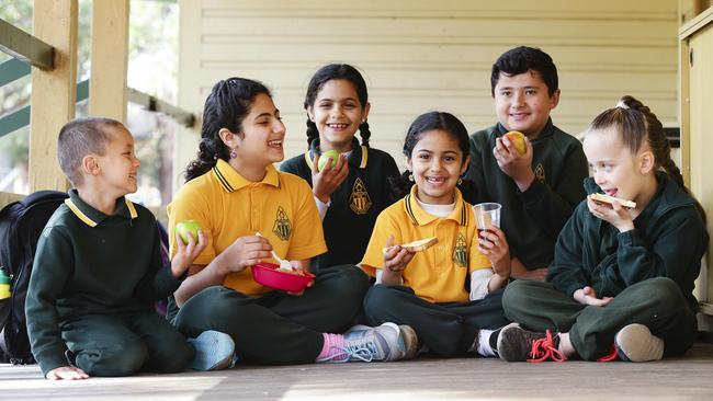 Almost 150 schools are part of Foodbank's school breakfast program in NSW, but several hundred more could also benefit. Picture: Justin Lloyd