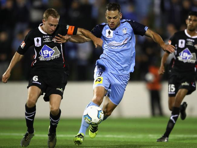Bobo has already played in the FFA Cup for Sydney FC. (Photo by Cameron Spencer/Getty Images)