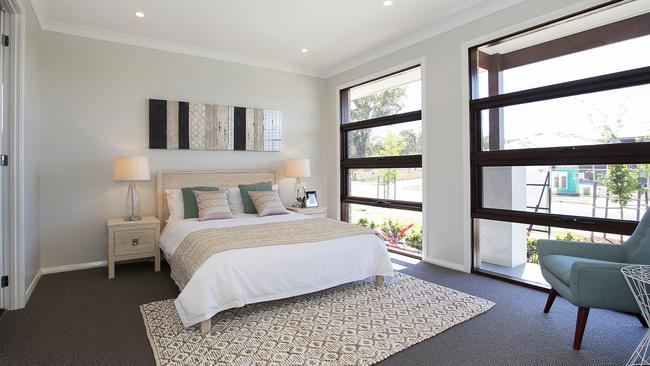 The master bedroom at 59 Forestwood Drive, Glenmore Park.
