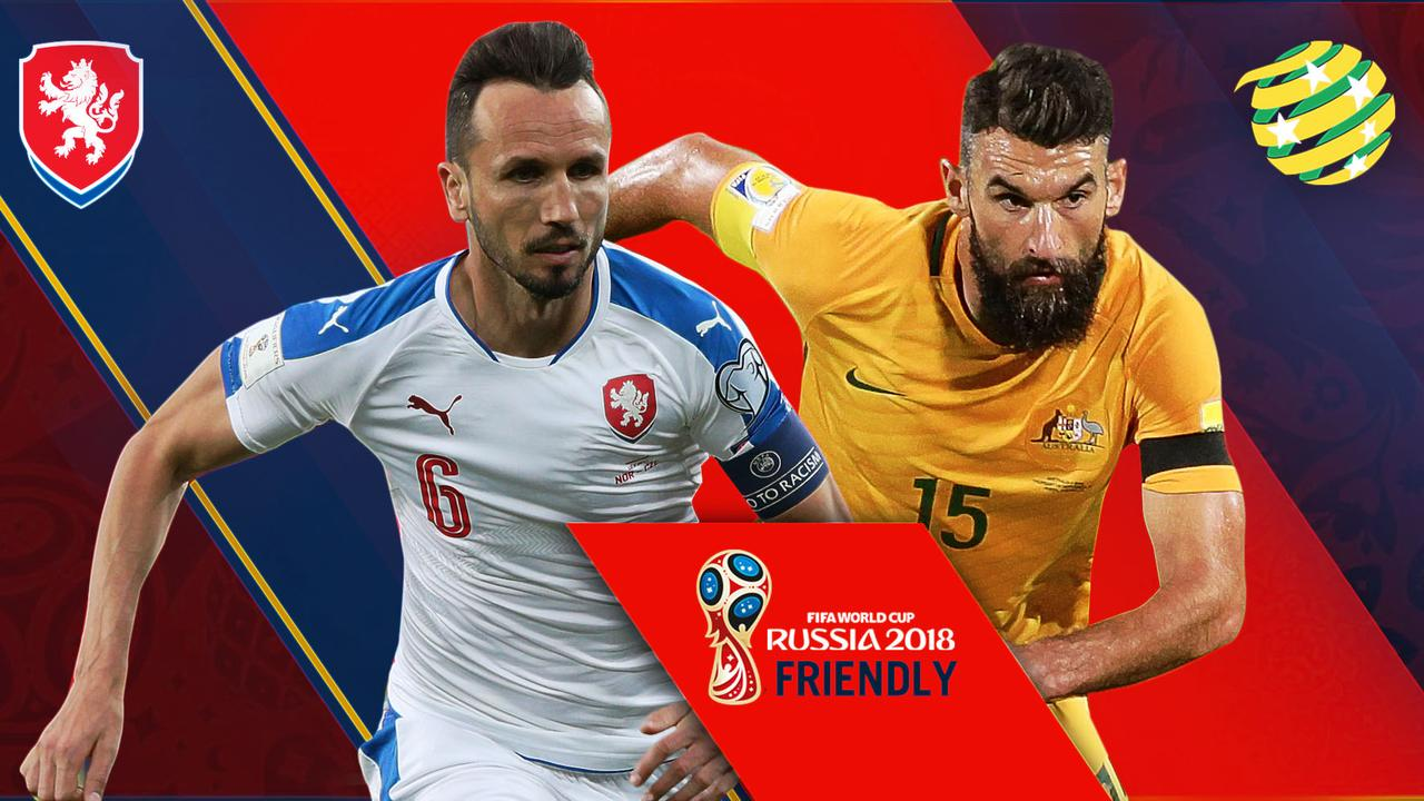 The Socceroos take on the Czech Republic in a pre World Cup friendly 39d58ec2d