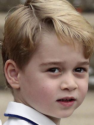As heir to the throne, Prince George's entire life is already mapped out for him. Picture: Steve Parsons/Pool via AP, File