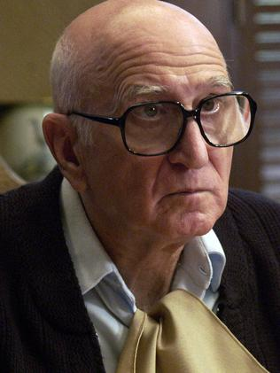 Dominic Chianese, played Junior Soprano, Tony's uncle. Picture: Supplied