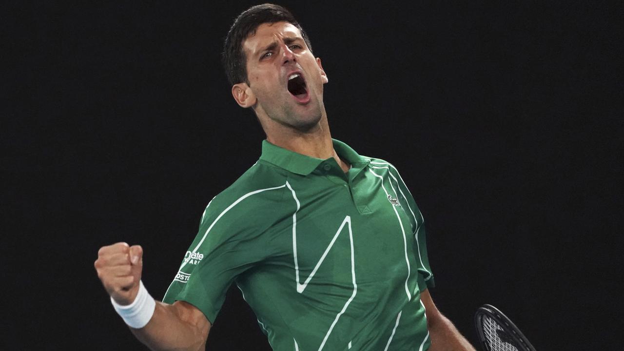 Australian Open 2020 Roger Federer V Novak Djokovic Roger Federer Defeats Tennys Sandgren Novak Djokovic Defeats Milos Raonic Fox Sports