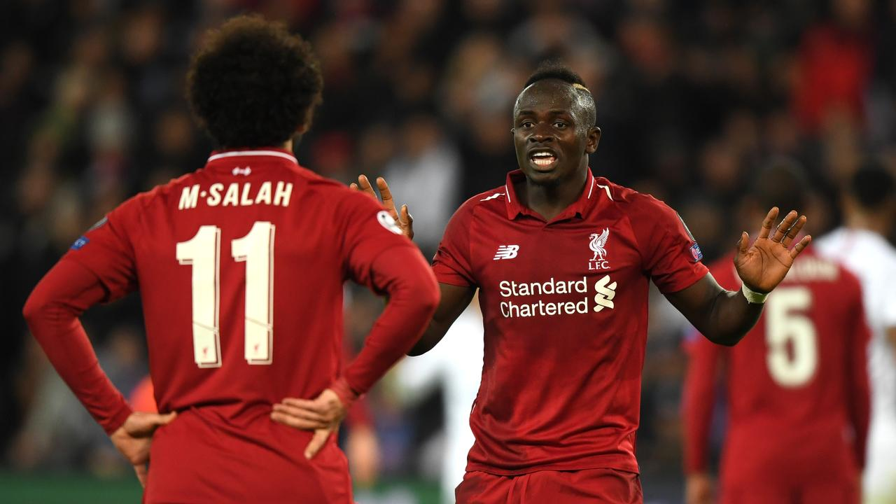 Mohamed Salah and Sadio Mane do not assist each other as frequently as you would think.