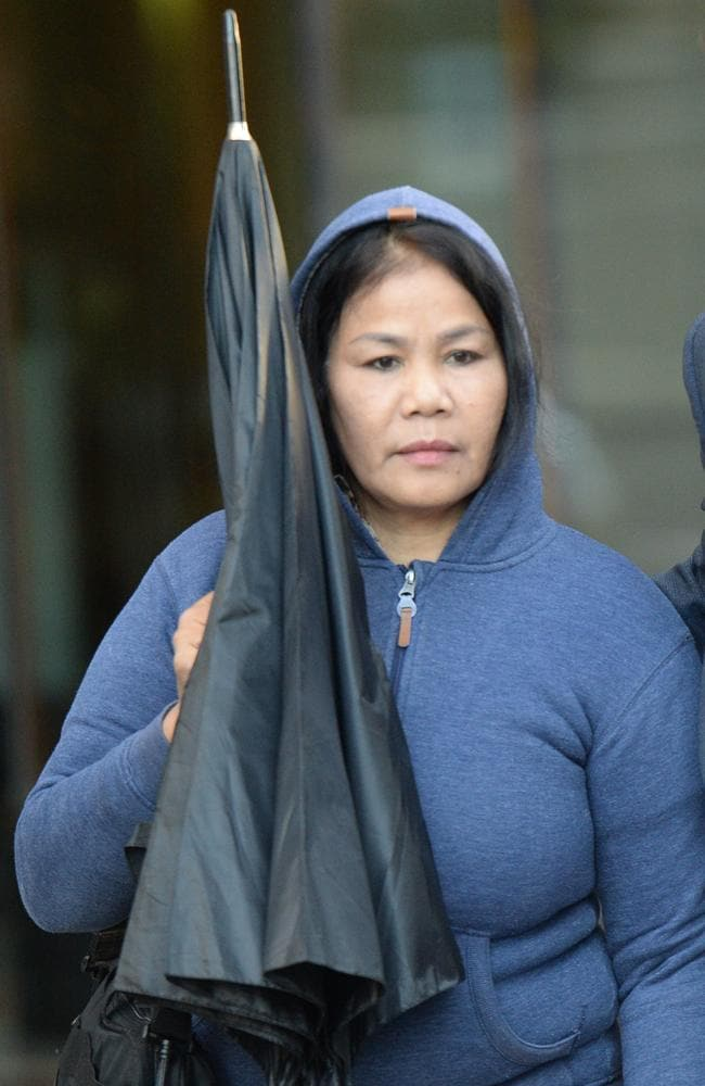 Kanbut told two Thai sex workers they had to pay her $45,000 when they came to Australia. Picture: AAP Image/Jeremy Piper
