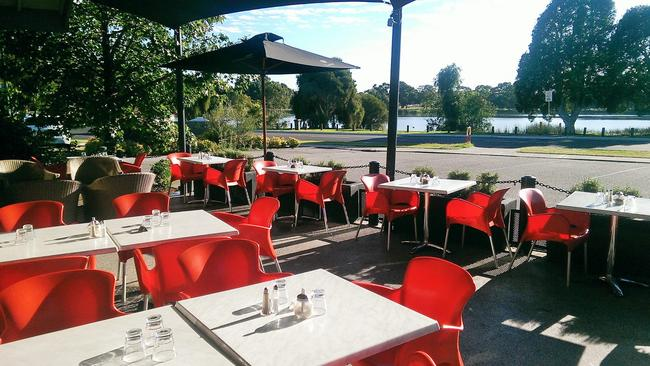 The cafe is located in the leafy western Perth suburb of Woodlands.