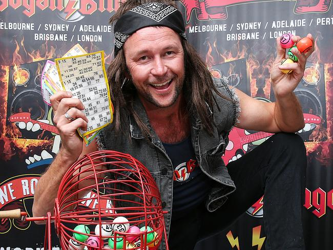 Bogan Bingo Founder Darren Hilsley At The Park Royal Hotel At Melbourne Airport Picture Ian Currie