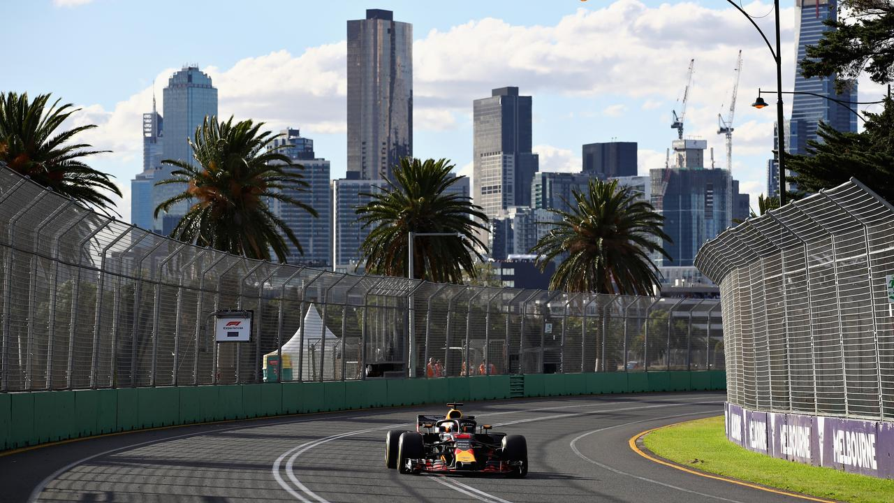 Melbourne will be a week earlier than in the 2018 season.