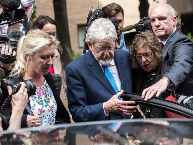 Rolf Harris was released from prison in May after serving three years for historic sex offences. Picture: Getty Images