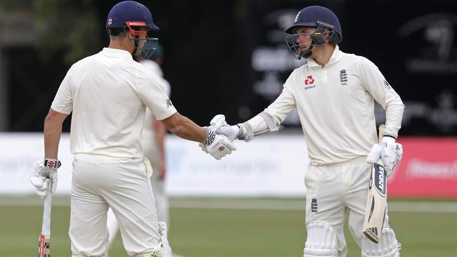 Sam Hain and Sam Curran held out the Aussie A side with a defiant stand.