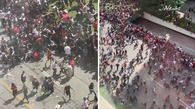 Toronto Raptors parade hit by shooting