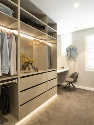 Install strip lighting to make your wardrobe more inviting.