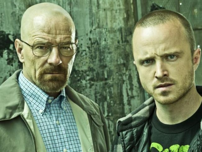The characters in Breaking Bad, which Spaliviero says was small scale compared with the real thing.