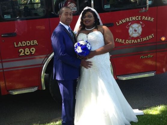 Luther Jones pictured on the Lawrence Park Volunteer Fire Department's Facebook page. Picture: Facebook