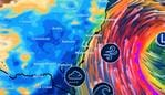A fierce low pressure system is building in the Tasman Sea. Picture: BOM.