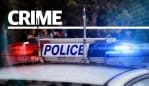 Two men have been arrested after a police pursuit in Adelaide's northern suburbs ended with the car reversing into two police vehicles.