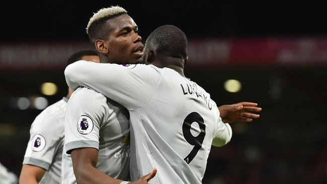 Manchester United's Romelu Lukaku will be looking forward to working with Paul Pogba once again.