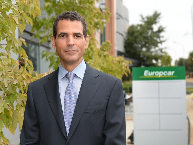 Europcar boss Ron Santiago says the company has updated its standard contract.