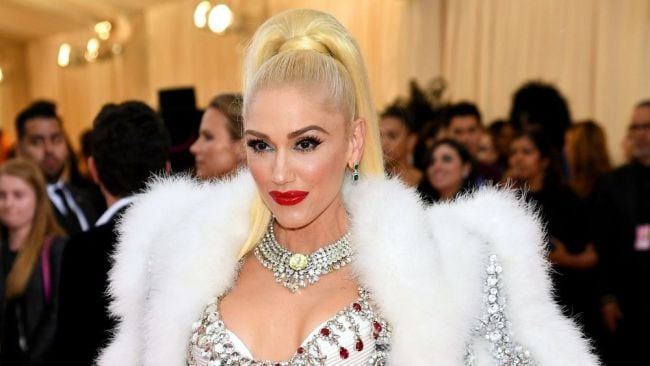 Gwen Stefani is the OG poster girl for red lips. Photo by Dimitrios Kambouris/Getty Images for The Met Museum/Vogue.