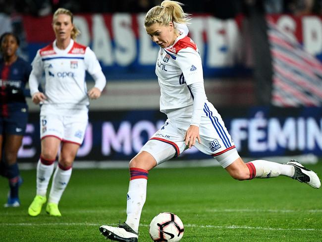 Hegerberg is deadly in front of goal.