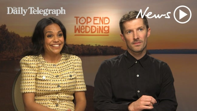 Miranda Tapsell and Gwilym Lee talk Top End Wedding