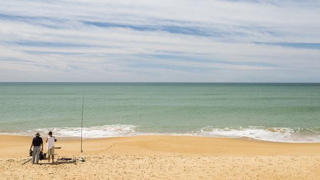 The 90 mile beach at Lakes Entrance. Picture: Destination Gippsland