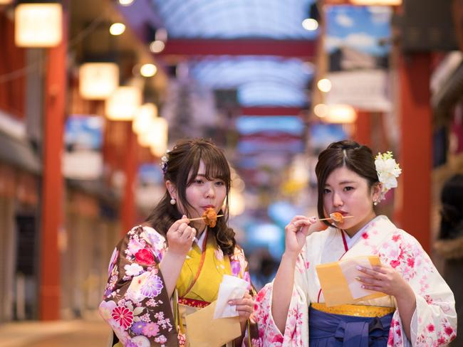 Be aware of cultural sensitivities in places you spend your holiday, such as Japan