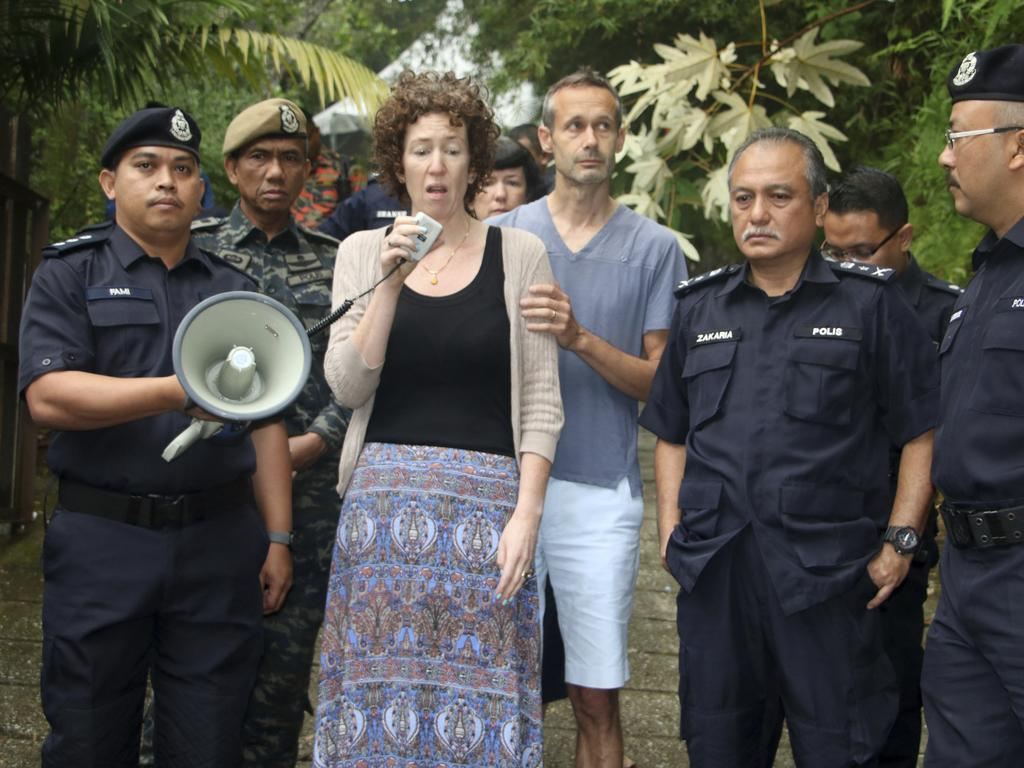 Meabh Quoirin, Nora's mum, appeals for information. Picture: The Royal Malaysia Police/AP