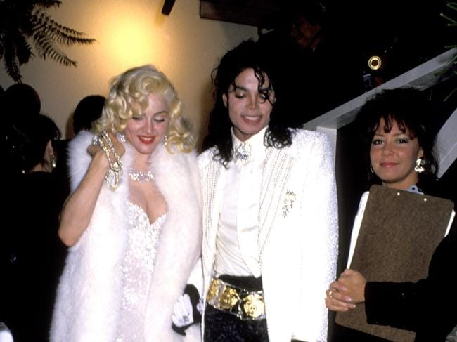 Madonna and Michael Jackson attended the 1991 Oscars together. Picture: WireImage