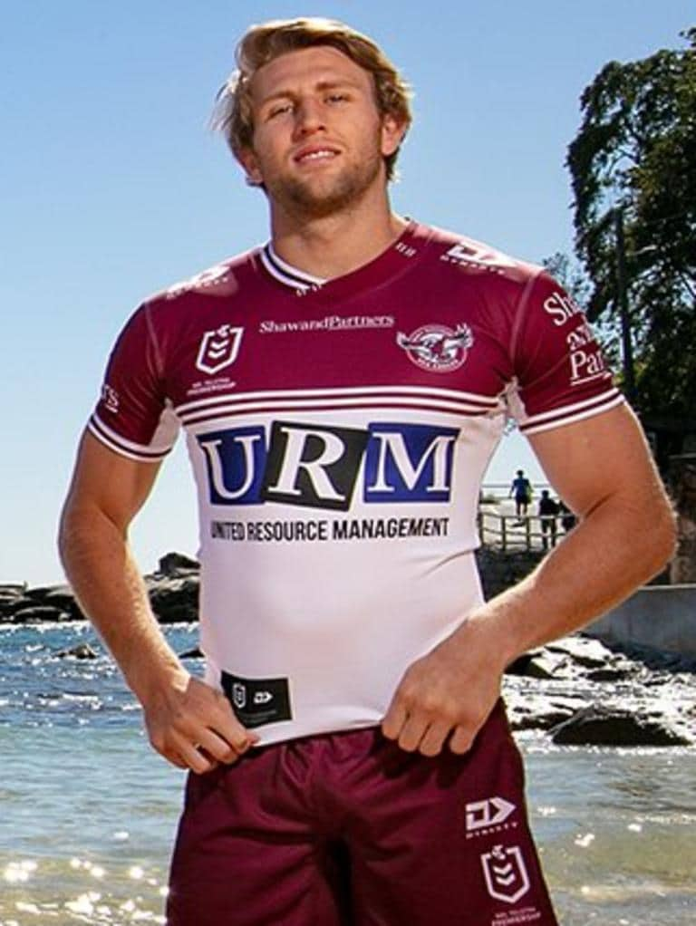 Sea Eagles away jersey 2020. Photo: Manly Sea Eagles
