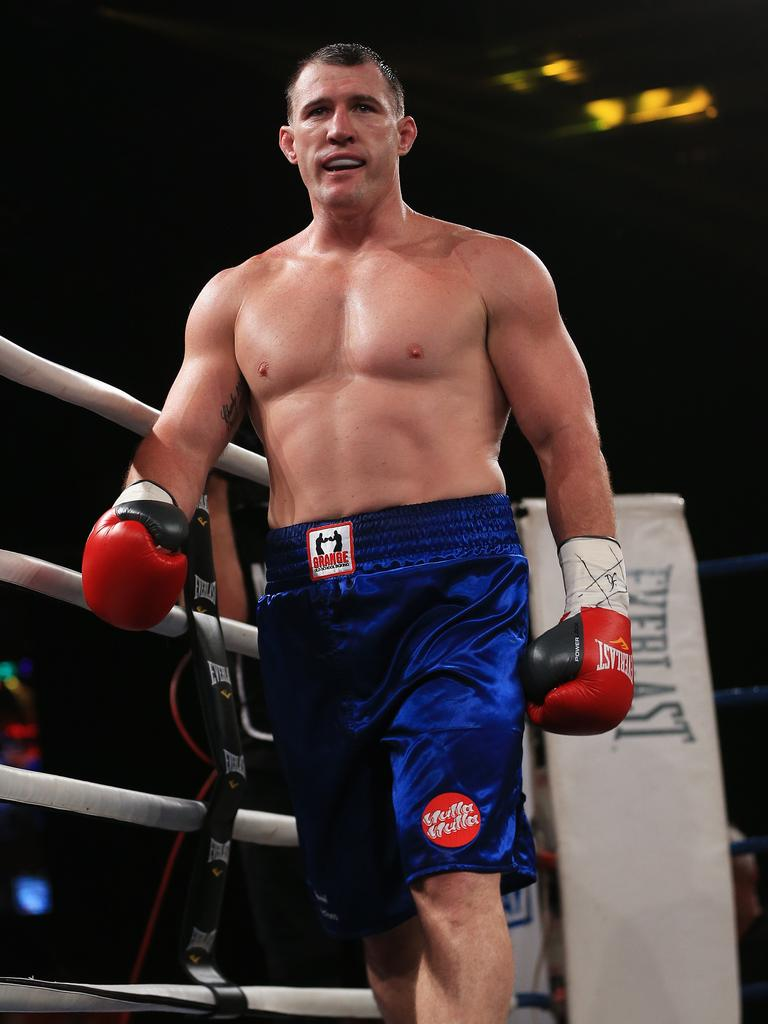 Paul Gallen, when he fought against Anthony Watts.
