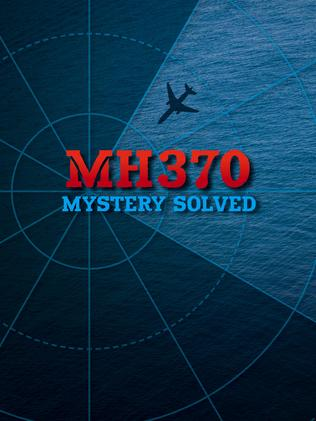 Cover of  <i>MH370: Mystery Solved</i> by air crash investigator Larry Vance.