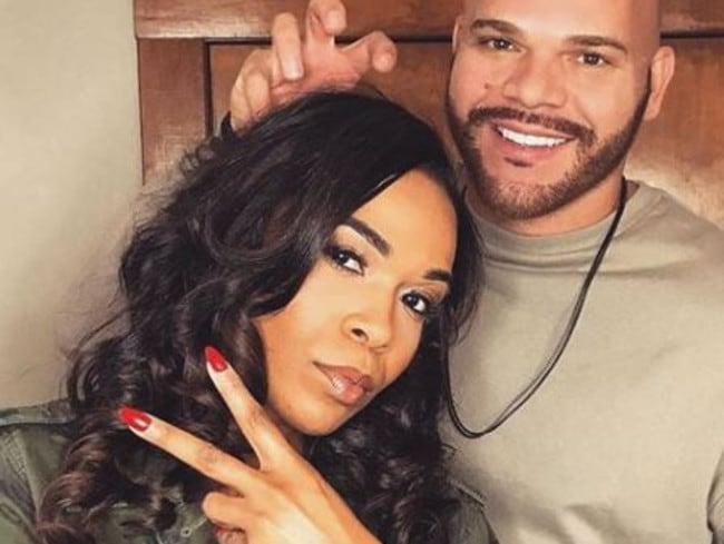 Destiny's Child star Michelle Williams and pastor Chad Johnson. Picture: Instagram