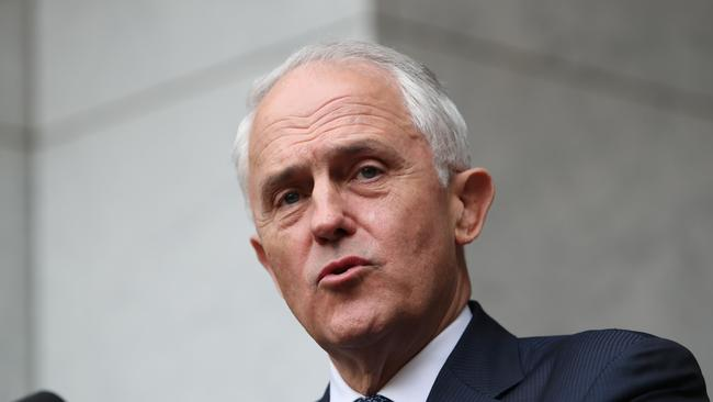 """China's media also took a jab at Malcolm Turnbull, saying Australia was """"sunny"""" before he came into power."""