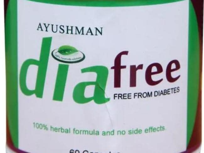 Diafree, one of the problematic products offered by the company.