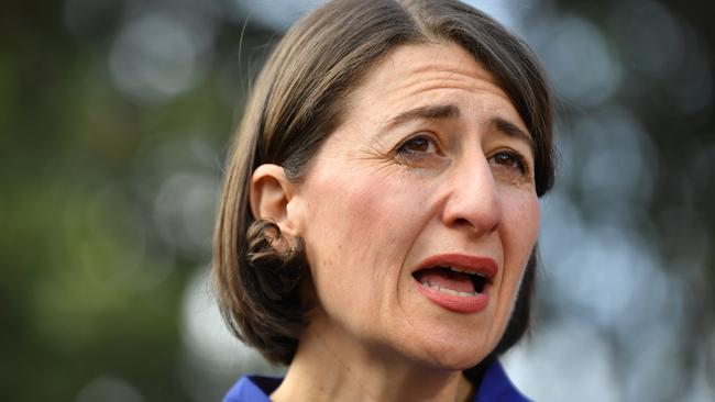 New South Wales Premier Gladys Berejiklian is looking to hold onto power in the state. Picture: Dean Lewins/AAP