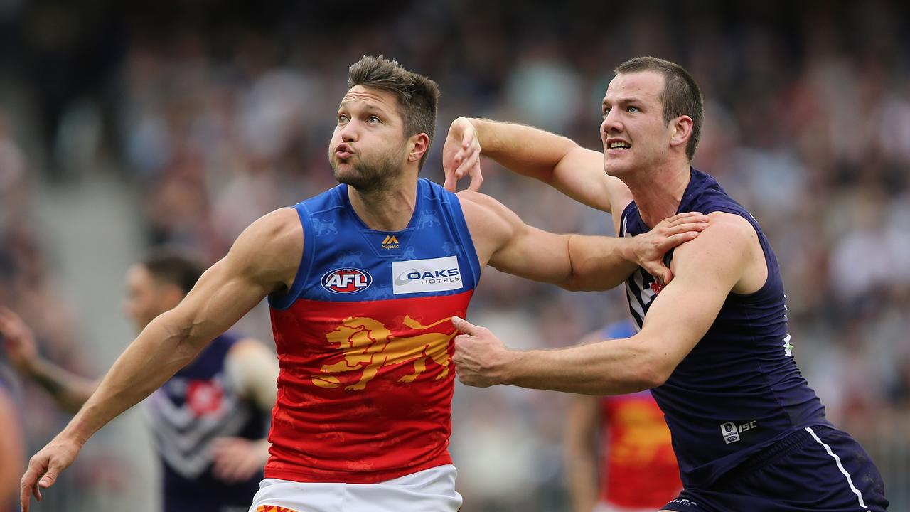 Veteran Stefan Martin has been a picture of consistency since crossing from Melbourne